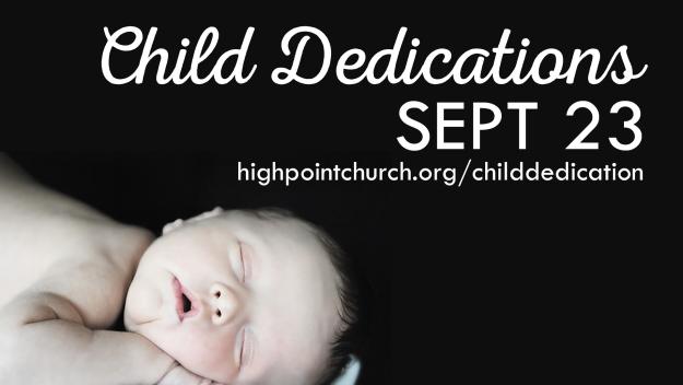 Child Dedications