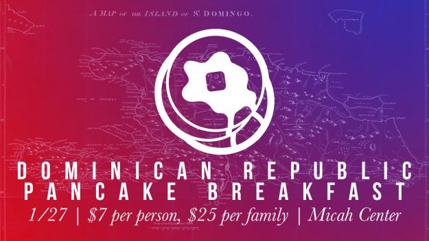 Dominican Republic Pancake Breakfast