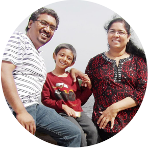 Profile image of Manohar and Jasmine James
