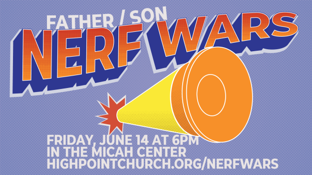 Father/Son Nerf Wars