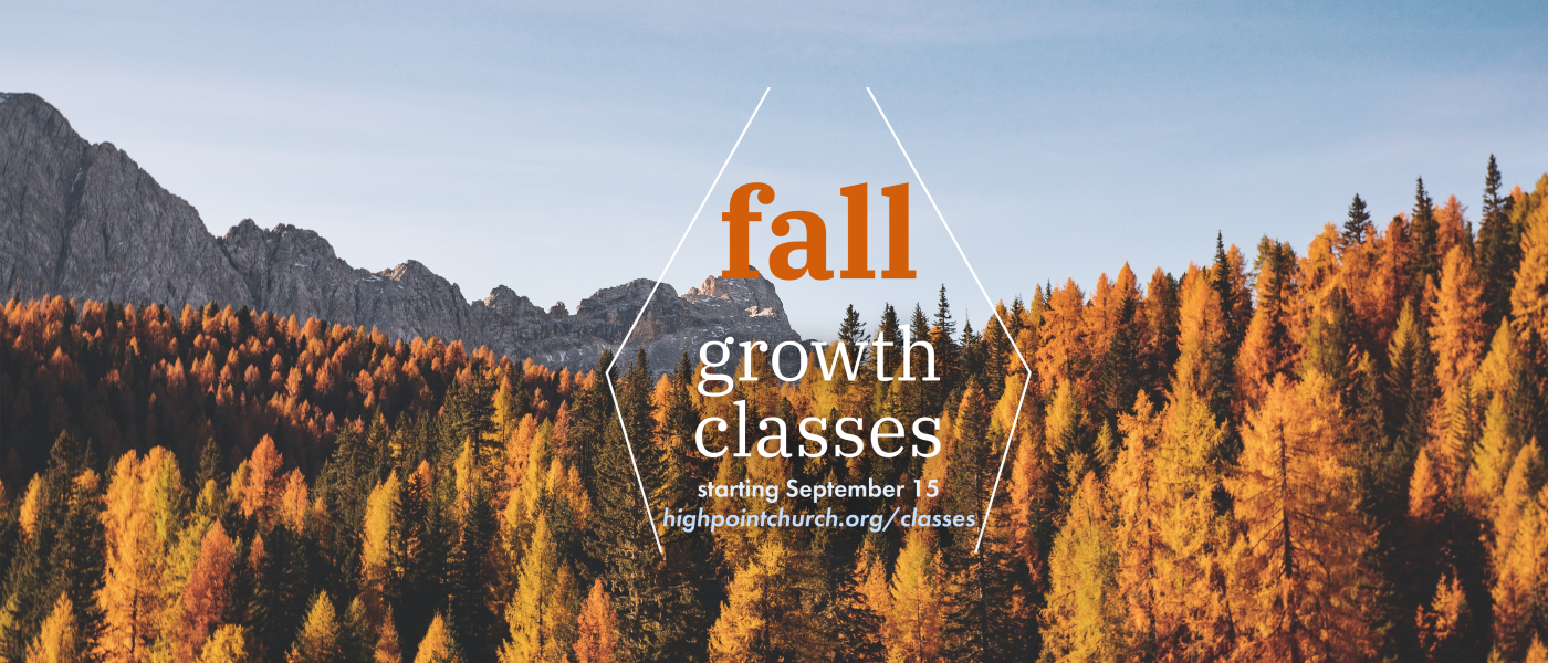 Fall Growth Classes